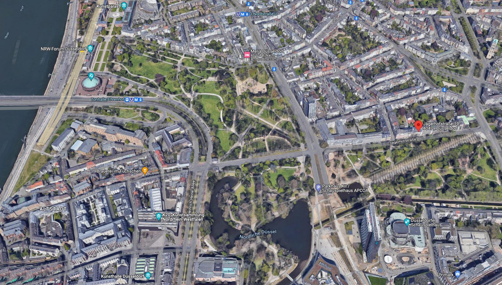 G.I.C. Standort Stadtplan